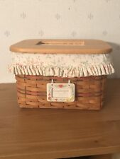 Reduced Again New Longaberger Mom's Memories Basket Set ~ Mother's Day - Card