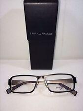 New 7 Seven For All Mankind 705 WALNT  Unisex Walnut  Eyeglasses 54-15-140