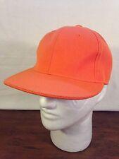 Men's KB Ethos Acrylic Orange Cap Hat (Size 7 1/4)