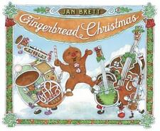 GINGERBREAD CHRISTMAS - BRETT, JAN - NEW HARDCOVER BOOK