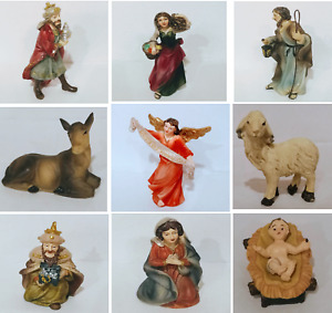 Single Replacement Figurine for Tabletop Christmas Scene Nativity Set. One piece