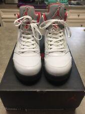 "Nike Air Jordan 5 Retro ""Fire Red"" 2013 Style # 136027-100 Size 11"