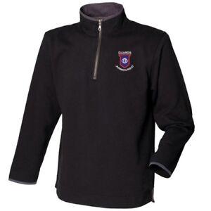 Guards Armoured - Zip Neck Sweatshirt