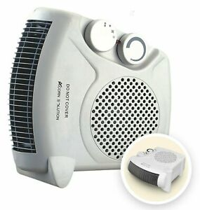 Fan Heater 2KW 2000W Portable SILENT Electric FH06 Floor Hot & Cold Air Upright