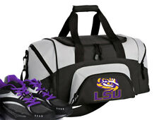 12e9c1d9704d SMALL LSU Tigers Gym Bag Small LSU Geaux Duffel GIFT IDEA for HIM or HER Men