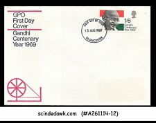 Great Britain - 1969 Mahatma Gandhi Centenary- Gpo First Day Cover - Fdc