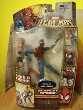 "Scarlet Spider 6"" action figure 2008 HASBRO MARVEL LEGENDS VHTF spider-man"