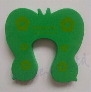 Door Stropper baby Kids Safety Animal Jammer Finger Protector Guard Foam Green