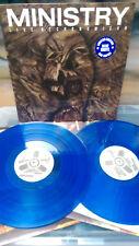 MINISTRY - LIVE NECRONOMICON LP  Blue Vinyl Al Jourgensen Industrial Stigmata