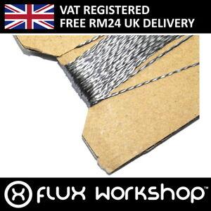 1m Conductive Thread Silver Coated Nylon Lilypad Arduino Flux Workshop