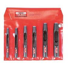 TOLEDO Hollow Wad Punch Set - 6 Pc.