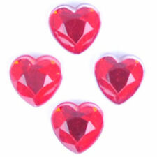 Heart any Purpose Red Jewellery Making Beads