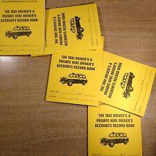 taxi driver ACCOUNTS RECORD KEEPING LOG BOOK cash expenses cab meter tax GRADED