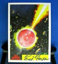 MARS ATTACKS REVENGE AUTOGRAPH CARD #3 INTO MARS' ORBIT FRED HARPER 09/10