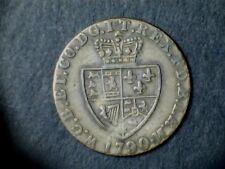 George III 1790, Imitation Guinea Gaming Token.(dia:22mm) approx , Grade Fine.