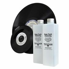 Vinyl Clear Vinyl Record Cleaner LP Antistatic Cleaning Solution 2 x 250ml