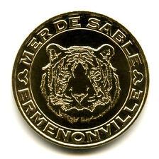 60 ERMENONVILLE Mer de Sable, Tête de tigre, 2016, Monnaie de Paris