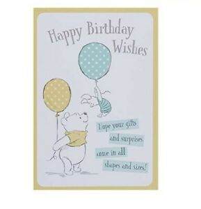 Hallmark Disney Winnie the Pooh Birthday Card