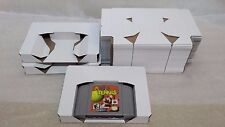 10 N64 Nintendo 64 Reproduction Tray Inserts White Box Lot