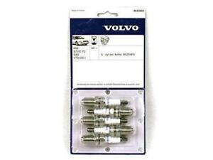 Volvo 850 S70 V70 S60 1993 - 2007 Spark Plug 5 pcs Set Genuine 8642660
