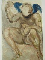 Dali Salvador: Fegefeuer 15 - Holz Graviert Original Unterzeichnet, 1960 #Divine