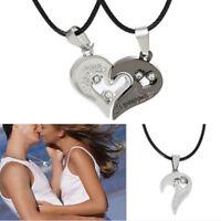 Fashion Women Gold Love Heart Bib Statement Chain Pendant Necklace Jewelry Gift