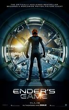 """ENDER'S GAME """"A"""" 11.5x17 PROMO MOVIE POSTER"""