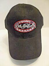 Vintage New Rare Nascar Dale Earnhardt Legendary The Intimidator Black & Red Hat