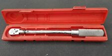 "Snap On 3/8"" Dr Flex Head Torque Wrench QD2FR75 5-75 FREE SHIPPING!"