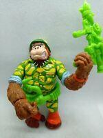 1991 Teenage Mutant Ninja Turtles Sgt Bananas Figure Gorilla Near Complete TMNT