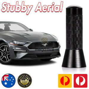 Antenna / Aerial Stubby Bee Sting for Ford Mustang Convertible Black 3.5 CM