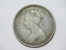 GREAT BRITAIN 1873 FLORIN QUEEN VICTORIA SILVER TYPE WORLD COIN 🌈⭐🌈