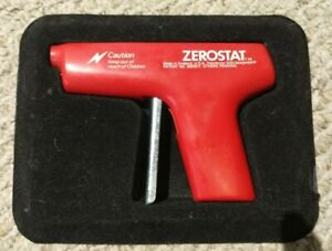 Discwasher Zerostat Anti Static Vinyl Record Gun Red, read description