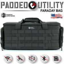 Mission Darkness Padded Utility Faraday Bag // Protects Devices & Blocks Signals