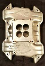 New Listingvintage Offenhauser 360 Degree Dual Port Aluminum Intake Fits 383 Magnum Mopar