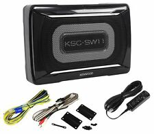 Kenwood KSC-SW11 150 Watt Compact/Slim Powered Subwoofer w/ Bass Remote
