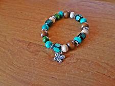 Turquoise Wooden Fashion Bracelets