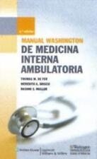 Manual Washington de Medicina Interna ambulatoria (Spanish Edition), Washington