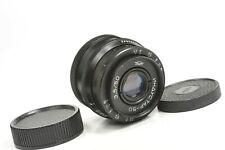 Lente Industar - 50 50mm f3, 5, M39 (L39) de montaje para Leica, Zorki, alimentado telémetro
