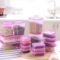 EE_ 17PCS KITCHEN FOOD CEREAL GRAIN BEAN RICE STORAGE POT CONTAINER BOX CASE SUP