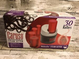 Caruso Molecular Steam Hair Setter 30 Rollers C97953 V2 120-240 Volts EXCELLENT