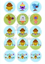 Edible Cupcake Toppers DUGGEE PRE CUT - Highest Australian Quality