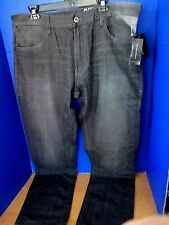 SEAN JOHN~Black SLIM STRAIGHT FIT CLAYTON JEANS~Men's 40 x 32~NWT