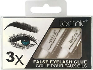Technic x 3 False Eyelash Glue ~ UP TO 5% OFF WITH MULTI-BUY