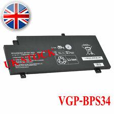VGP-BPS34 Genuine Battery For Sony Vaio 15 SVF15A1CCXB SVF15A1DPXB VGP-BPL34 41W