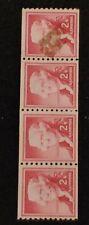 Thomas Jefferson 2 Cent Vintage Postage Stamp Red - Rare (X4) - Unused!