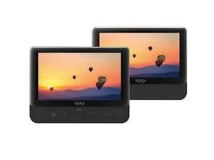 Tragbarer DVD Player Xoro HSD 9912, (mit Dual TFT Bildschirm)