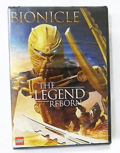 Bionicle the legend reborn by lego DVD movie