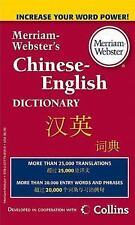 Merriam-Webster's Chinese-English Dictionary: By Merriam-Webster