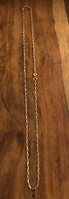 "9ct Yellow Gold 20"" Oval Belcher Chain 9 Carat 375"